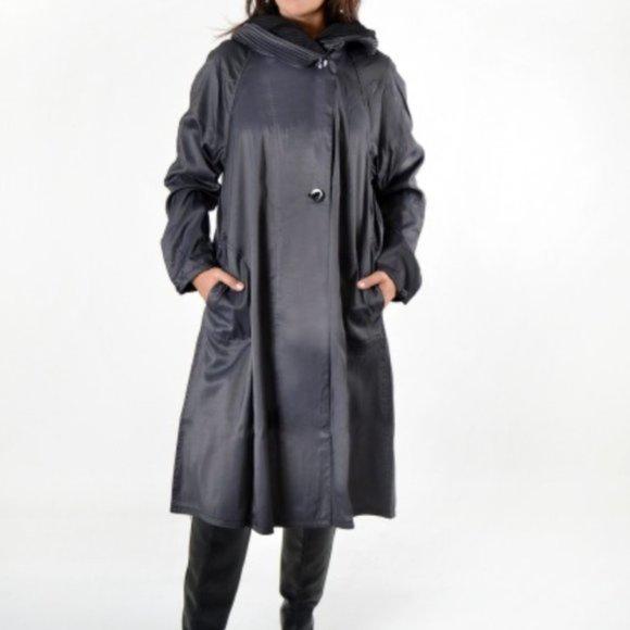 Mycra Pac Donatella Tea Length Reversible Jacket